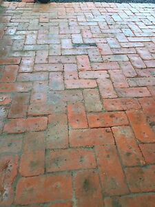 Solid red bricks cleaned early 1900's Thousands Ulverstone Central Coast Preview