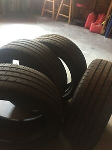 4 Michelin Primacy Summer Tires 215/45/17