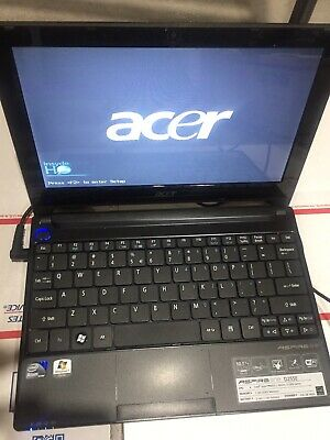 Acer Aspire One D255E Netbook Laptop Windows 10 250GB HDD 2GB RAM Atom N455