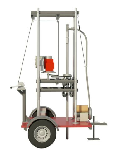 Water Well Drill Plans Build Your Own Drilling Equipment DIY Driller Tool