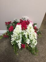 Wedding Bouquet (faux floral) Arrangements