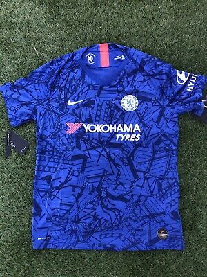 Nike Chelsea Authentic Vapor Soccer Jersey Kit 2019/2020| Men's L (AJ5255-495) image