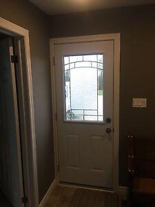 """Exterior Door 32"""" X 80"""" with Frame & Jam"""