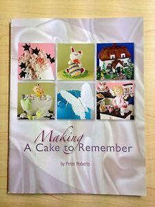 Making a cake to remember / sugarcraft book / baking / cakes
