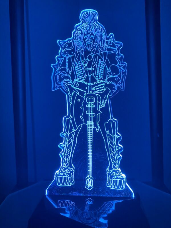 Gene Simmons multicolor Light
