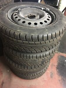 2056016 Winter Tires With Rims (Two Sets)