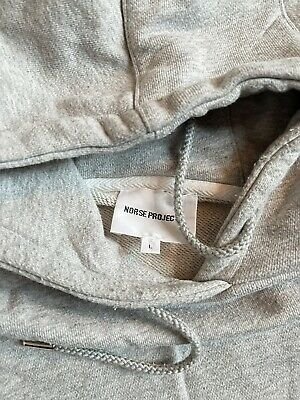 Norse Projects Ketel Summer Classic Hoodie Size Large