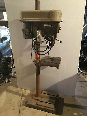 Delta Rockwell Drill Press 15-665 Made In Usa 120v 34hp Single Phase