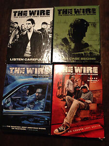 The Wire seasons 1, 2, and 3 DVD in good used condition