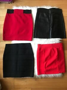 Women's mini skirts, all size small or medium