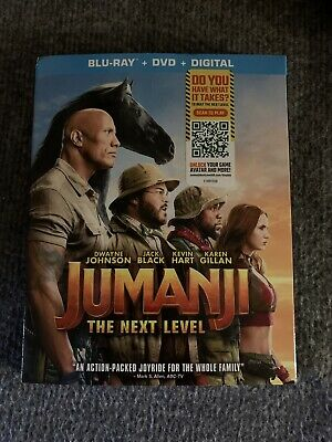 #NEW# Jumanji: The Next Level (Blu-ray + DVD + Digital; 2020) w/ Slipcover