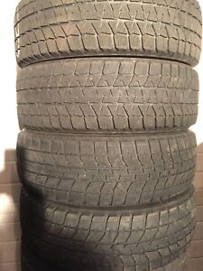 4-195/65R15 Bridgestone winter tires