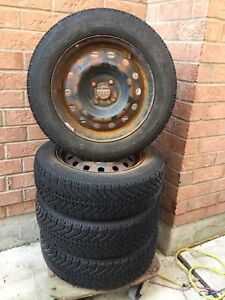 P185/65R15 Goodyear Winter Tires