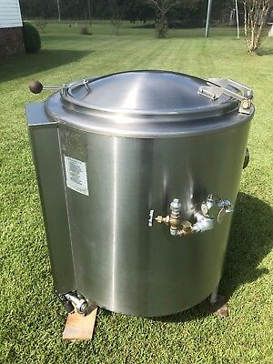 Groen Jacketed Steam Kettle Model Ah1-40 Natural Gas Excellent Clean Shape