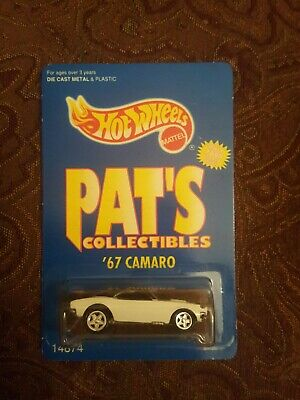 1995 Hot Wheels Pat's Collectibles '67 Camaro only 7,000 made (less than a hunt)