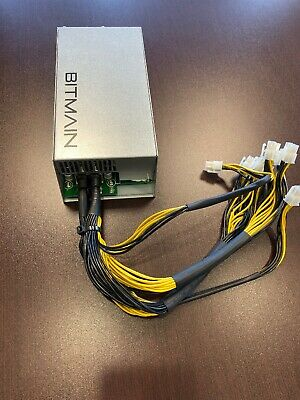 Bitmain Power Supply  APW3++ PSU for Antminer ASIC Miner S9 L3+ D3 A3 1600W for sale  Shipping to South Africa