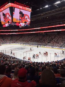 Lower bowl Oilers tickets for sale various games