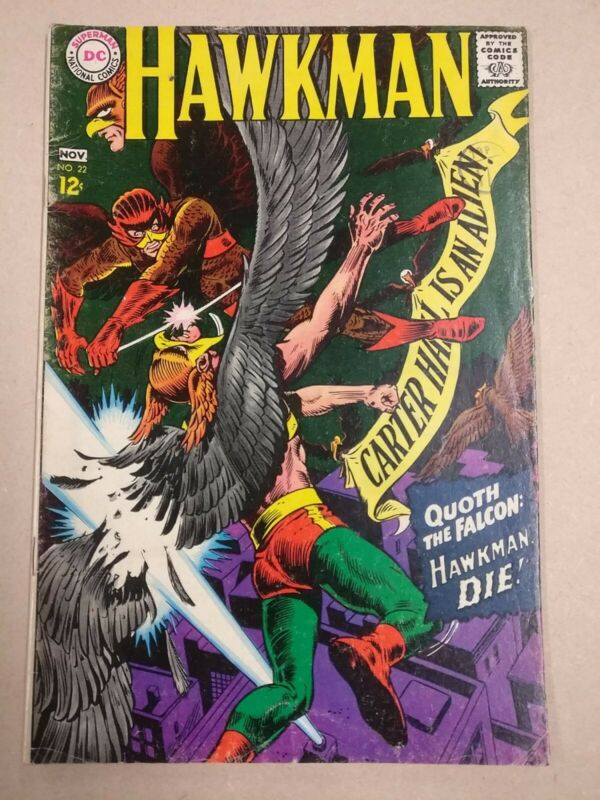 Hawkman 22 (1967)