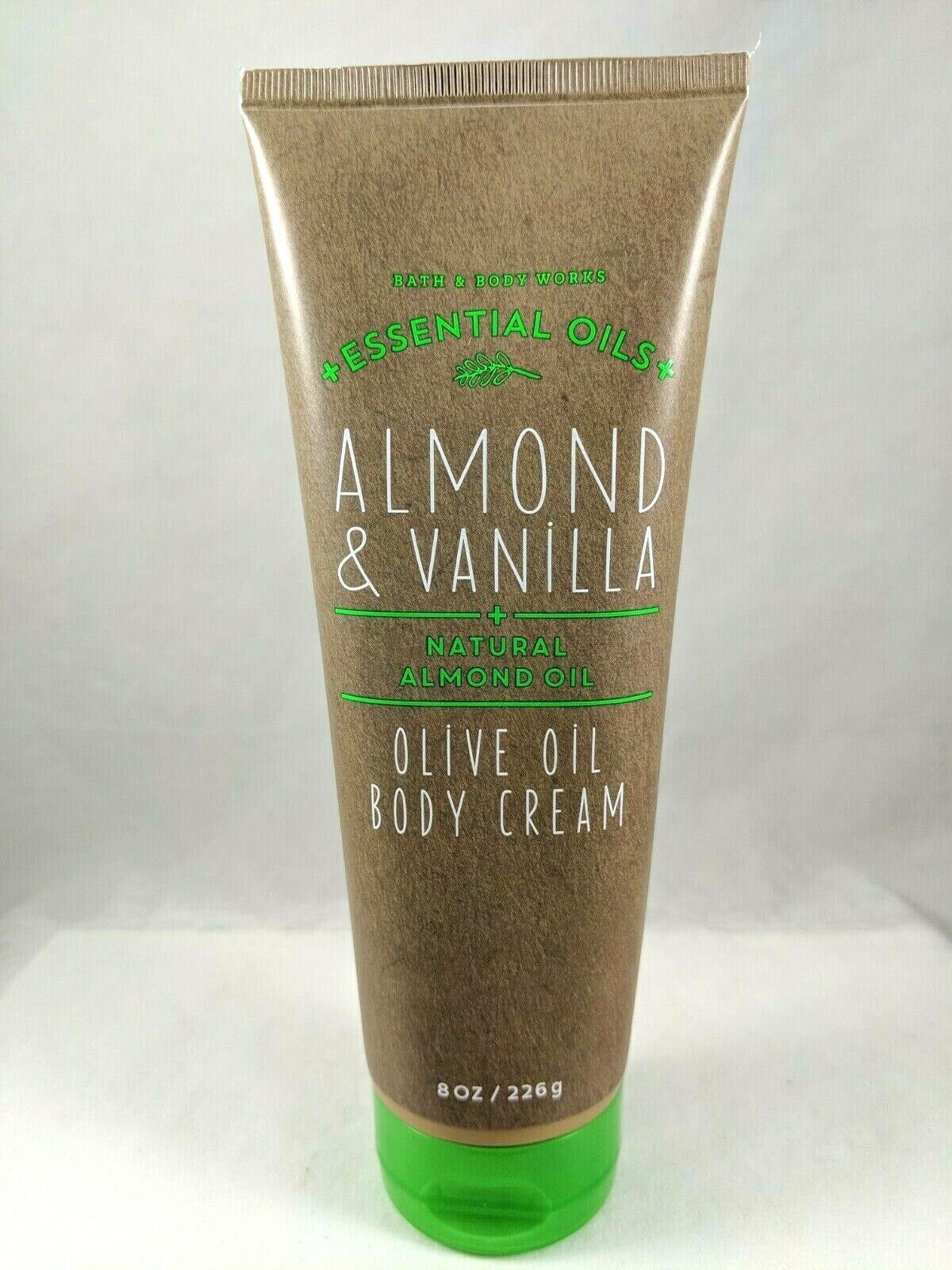 Bath & Body Works Oilve Oil Body Cream Almond & Vanilla, 8 o