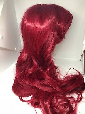 Halloween Costumes Red Wigs (Halloween Costumes - One Size Long Red Wig - Ariel Wig from Little)