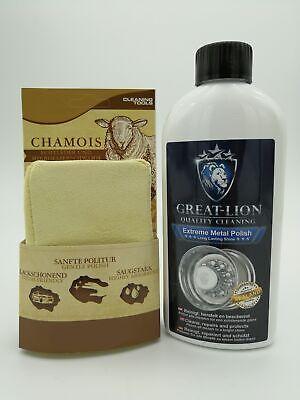 (59,80€/L) Great Lion Extreme + Metal Polish 500ml & Politurschwamm