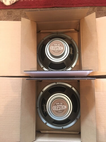 Celestion Ten 30 Speaker Pair Excellent Condition !