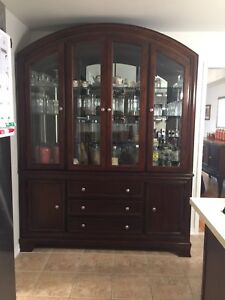 Display Hutch and Buffet