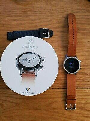 Motorola moto360  smartwatch - Only available in US at moment! (4th Gen 2019/20)