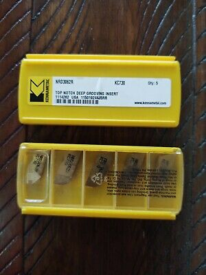 Kennametal Nrd3062r Kc730 Carbide Inserts Two 5 Packs 10 Total Free Shipping