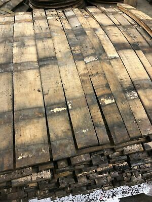 3x Reclaimed Whisky Whiskey Barrel Stave American White Oak Scotch Cask Keg Sign