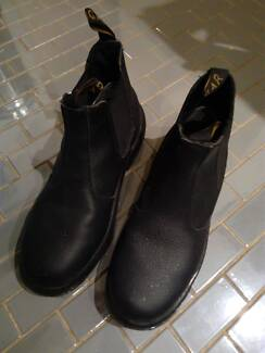 Cougar Black Work Boots Shoes Steel Capped Safety Size 8 (42) Pyrmont Inner Sydney Preview