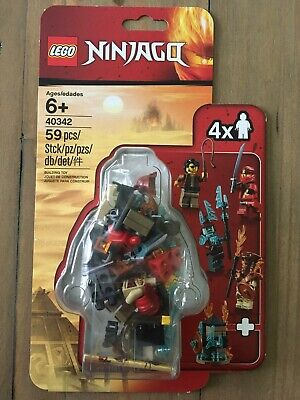 LEGO  Ninjago (40342) Minifigure Pack - Exclusive Minifigs - Clutch Powers - New