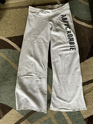 Abercrombie & Fitch Womans Sweatpants Sz Xl