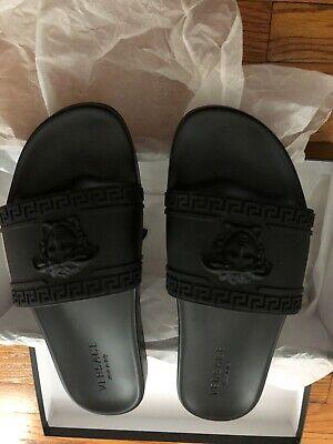 Men's Versace Medusa Slide Sandal