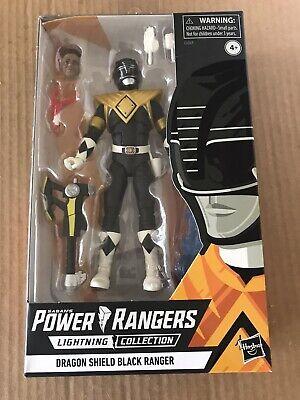 Power Rangers Black Ranger (Hasbro Power Rangers Lightning Collection DRAGON SHIELD BLACK RANGER)