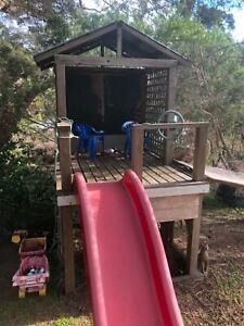 Cubby house with slide Hawthorn Boroondara Area Preview