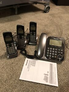 Digital Corded/Cordless Phone Set - reduced