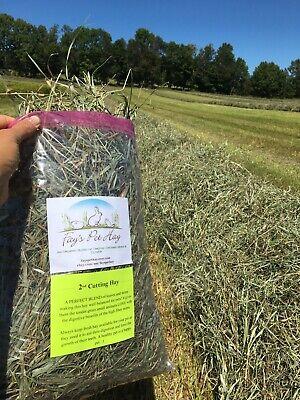 1 lb - ORGANIC Pet Hay! Timothy mixed grass 2nd. Guinea Pig hay, Rabbit hay...