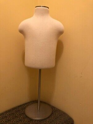 Retail Display Half Body Form Mannequin Small Child Retail Store Display Stand