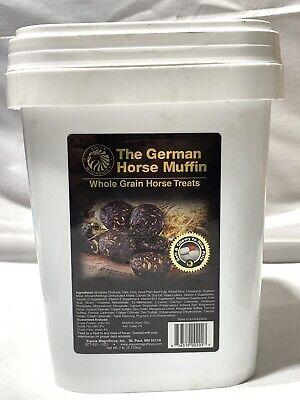 Equus German Horse Muffin Horse Treat ~ 7 Lbs Bucket
