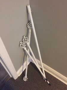 2 curtain rods 45""