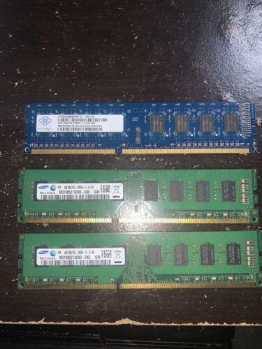 10 GB Ram Sticks 4 X 4 X 2 DDR3 - $15.00