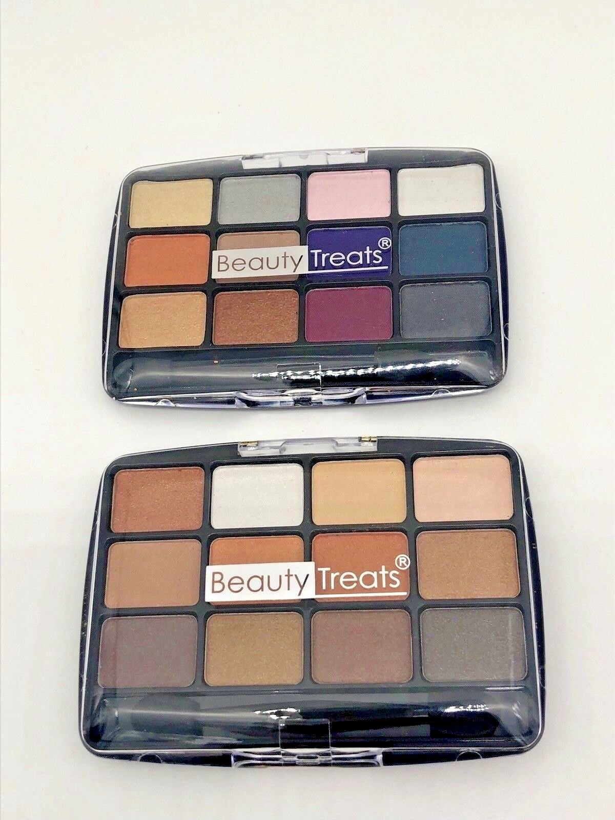 Beauty Treats 12 Color Metallic Eye Shadow 2 PC