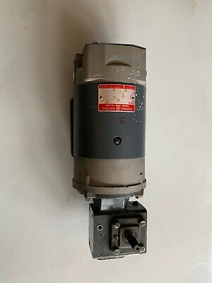 Ge Right Angle Gearmotor Model 5bcd56nd2a Dc Motor Controller Included.