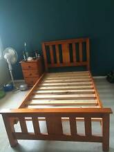 Wooden King Single Bed Frame Menai Sutherland Area Preview