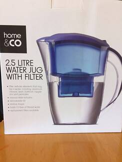2.5 water jug with filter