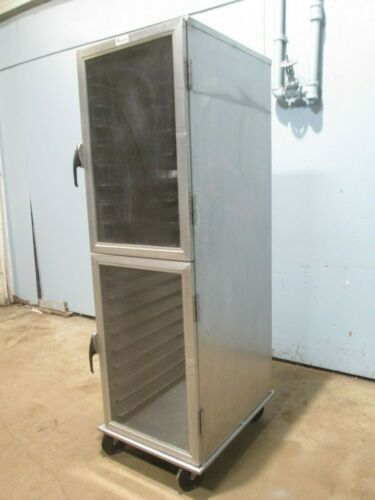 """LOCKWOOD"" H.D. COMMERCIAL (NSF) ALUMINUM ENCLOSED MOBILE BAKERY SPEED RACK/CART"