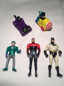 Vintage Batman toys $5 each
