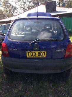1996, 2 Door, Holden barina City hatch back. Seaham Port Stephens Area Preview