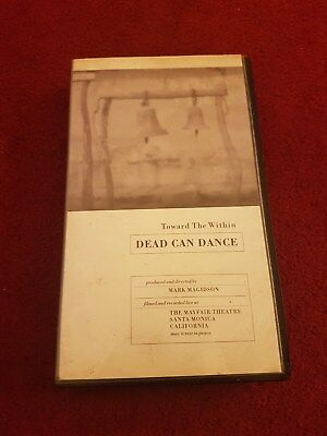 "DEAD CAN DANCE ""TOWARDS THE WITHIN"" FULLY TESTED VHS VIDEO"
